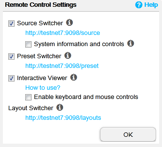 Control Center: Settings - Userful Support